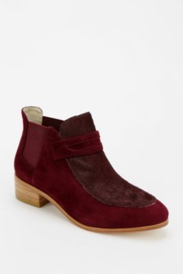 Plomo Simona Tonal Cutoff Ankle Boot $80