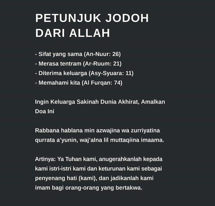 Pin Oleh Firda Agus Di Doa Di 2020 Kutipan Agama Kekuatan Doa
