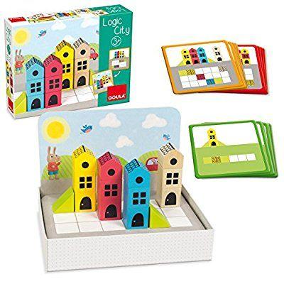 Juegos Logic Goula Puzzle City50200Amazon Y esJuguetes 8POkN0ZnwX