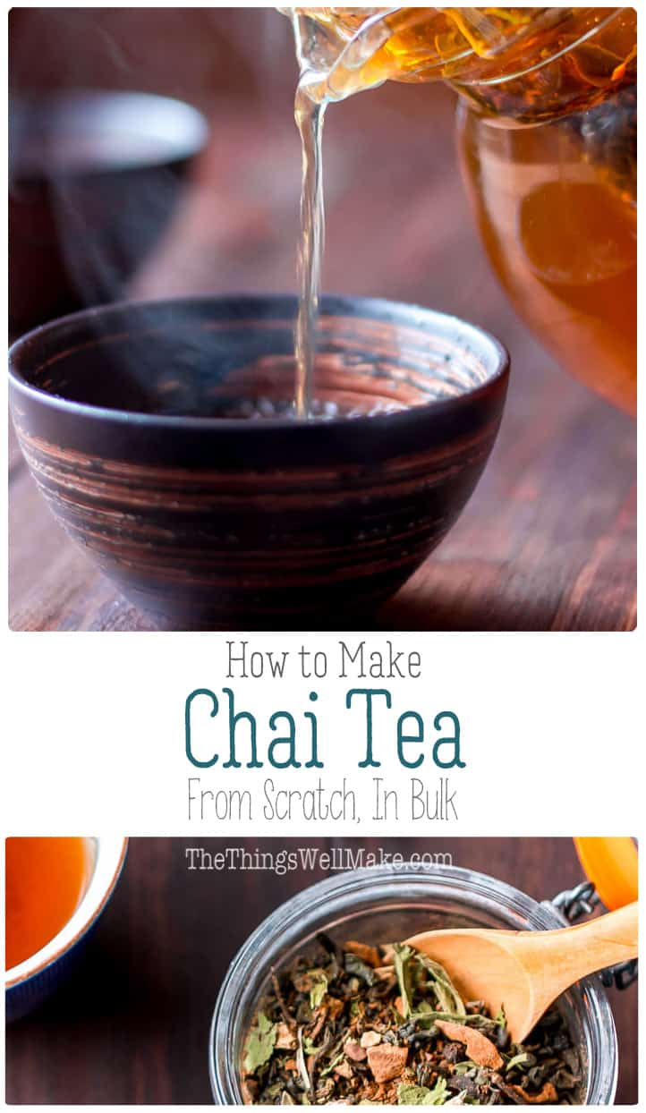 Photo of How to Make Chai Tea From Scratch (In Bulk)
