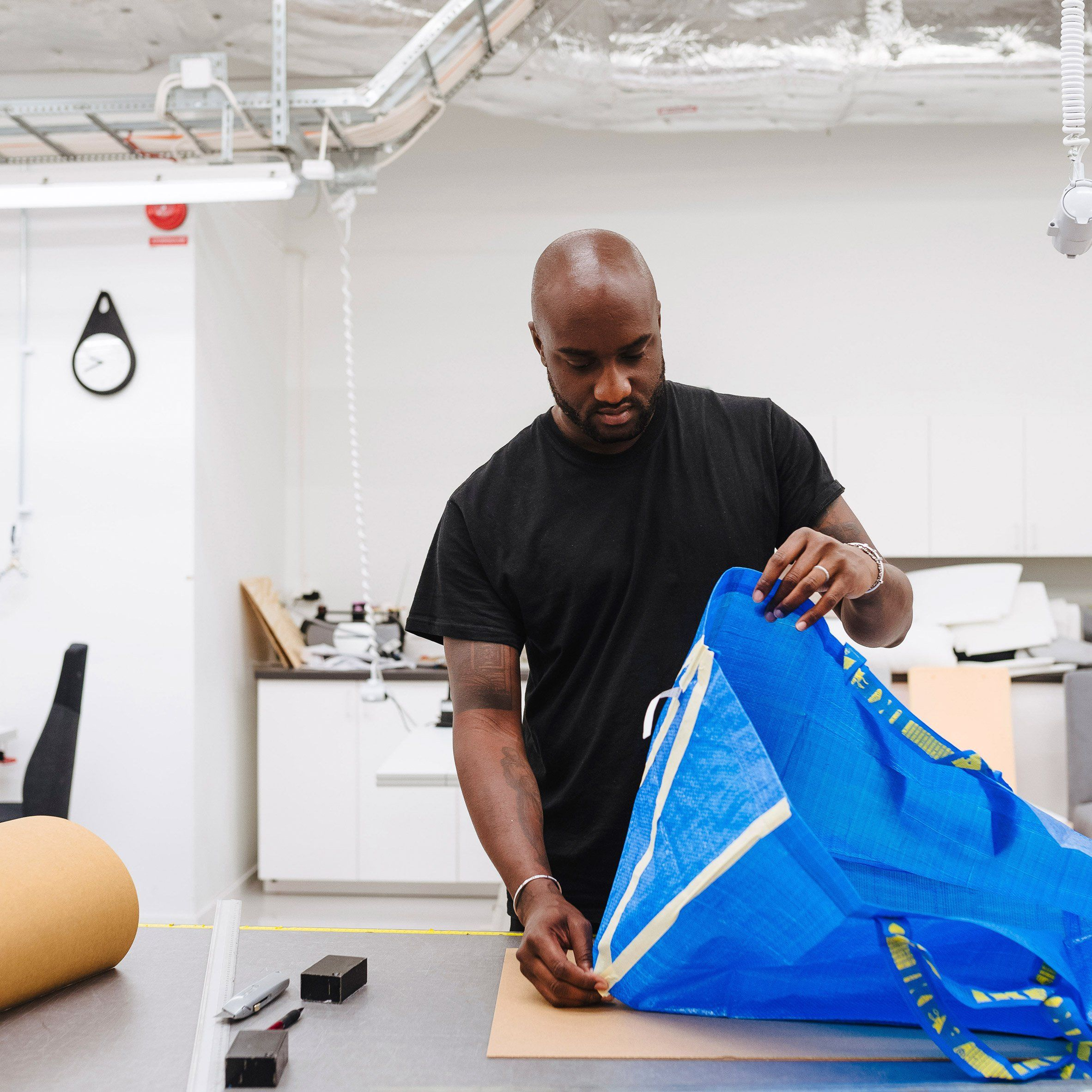 Ikea Has Announced It Will Work Alongside Fashion Designer Virgil Abloh To Produce A Collection Aimed At Millennials M Off White Virgil Abloh Virgil Abloh Fashion