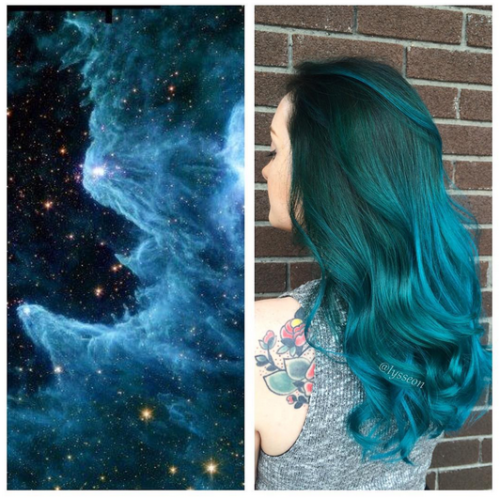 Galaxy Hair Is The Futuristic New 'Do All Over Instagram - Yahoo Style UK
