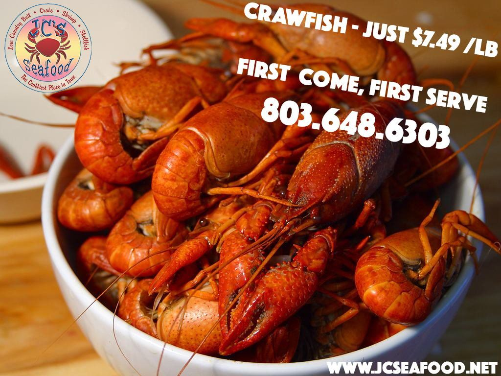 Learn more about us at Crawfish season