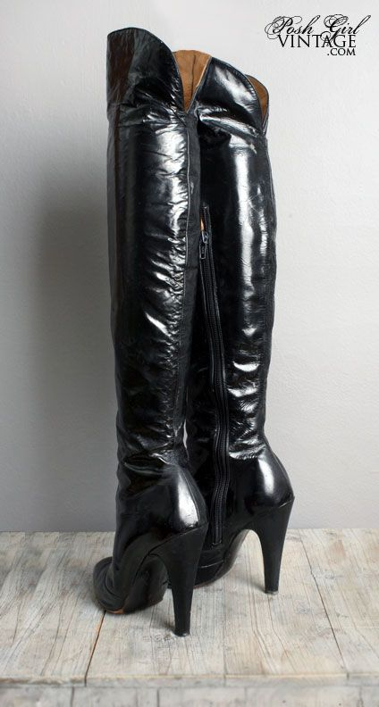 Fetish Men Leather Boots