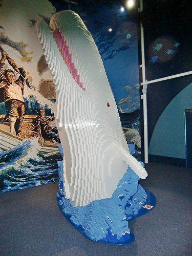 8 Insane Literary Lego Projects (Moby Dick!)