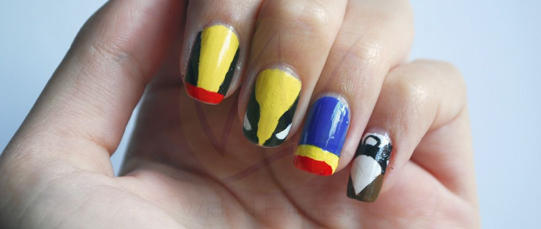 X Men Nail Art Kitty Pryde Wolverine Cyclops And Storm Http