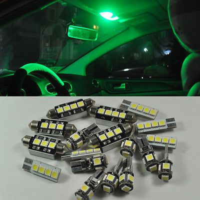 Smd Bright 16 Lights Led Interior Kit For Jeep Grand Cherokee 1998