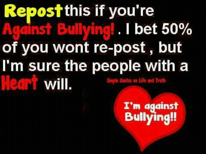 Say No To Bullies And Being Bullied Bullying Quotes Stop Bullying