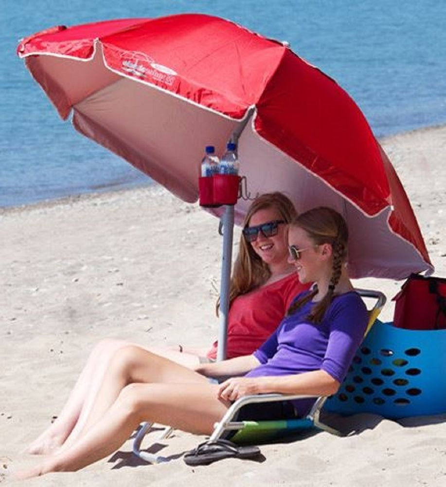 Beach Umbrella Portable Sun Shade Outdoor Sports Cover Camp Picnic Sand Tripod Wondershade