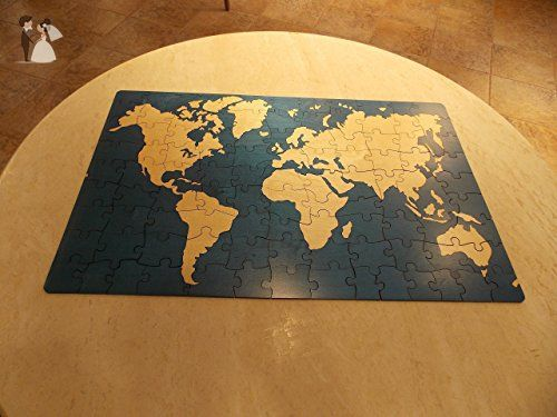 world map alternative wedding guest book box puzzle wedding guestbooks amazon partner link
