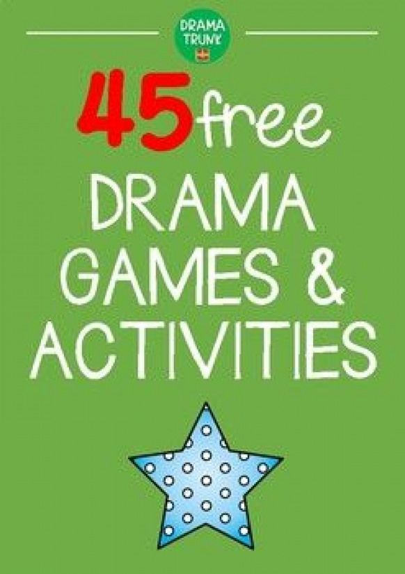 Drama Games for Kids and Teens-Free PDF Download