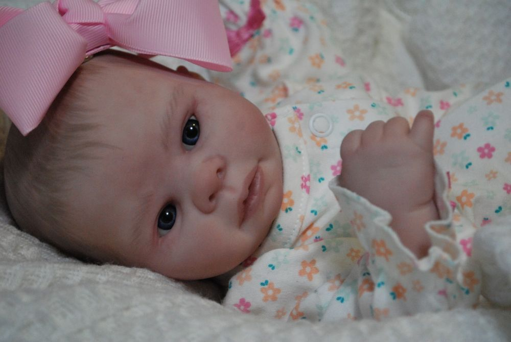Custom made preemie reborn ooak doll lifelike art artist