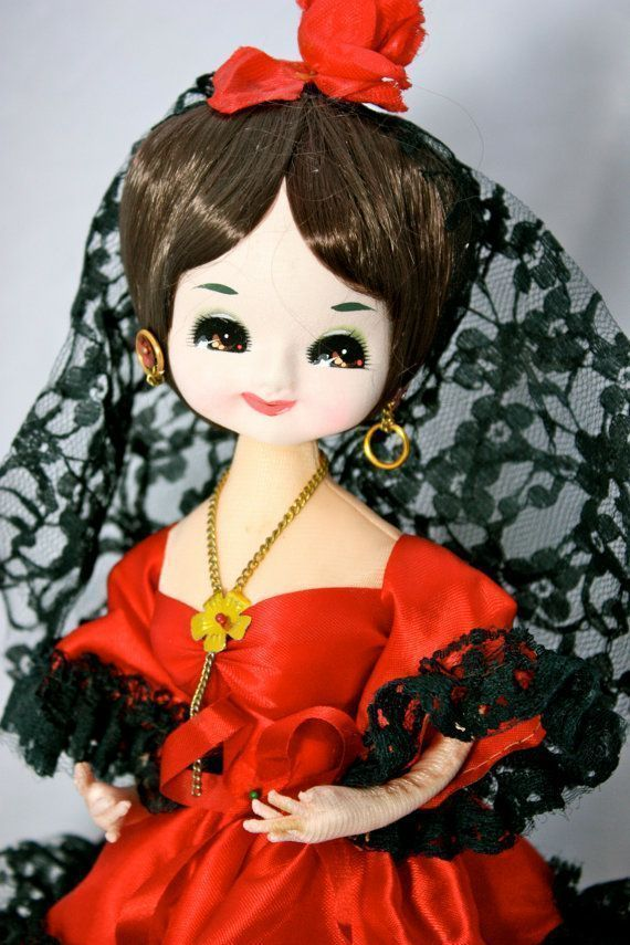 Vintage Big Eye Pose Doll Bradley Doll Korean Japan Carnival Doll with Red Satin and Black Lace Ruffled Salsa Dress Spanish Doll 12 #spanishdolls Spanish doll #spanishdolls Vintage Big Eye Pose Doll Bradley Doll Korean Japan Carnival Doll with Red Satin and Black Lace Ruffled Salsa Dress Spanish Doll 12 #spanishdolls Spanish doll #spanishdolls Vintage Big Eye Pose Doll Bradley Doll Korean Japan Carnival Doll with Red Satin and Black Lace Ruffled Salsa Dress Spanish Doll 12 #spanishdolls Spanish #spanishdolls