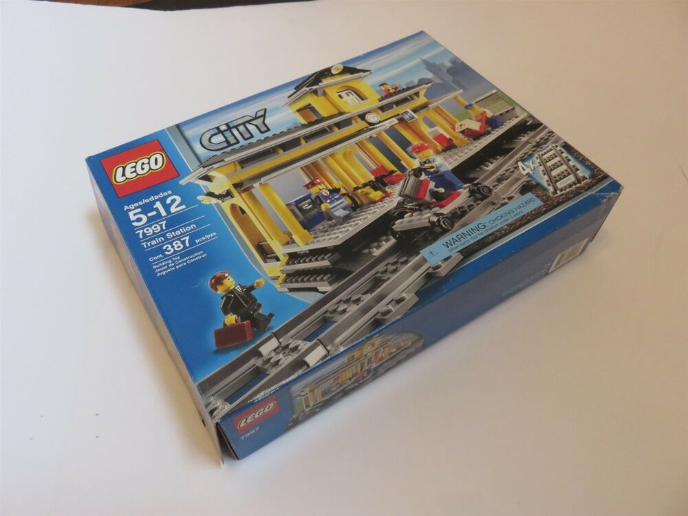 Lego City Train Station 7997 New In Box Afflink Contains Affiliate Links When You Click On Links To Various Merchants On This Site And M Lego City Train Lego City Police