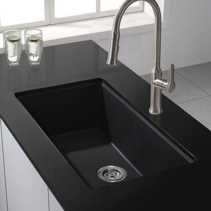 30 X 17 Undermount Kitchen Sink With Drain Embly