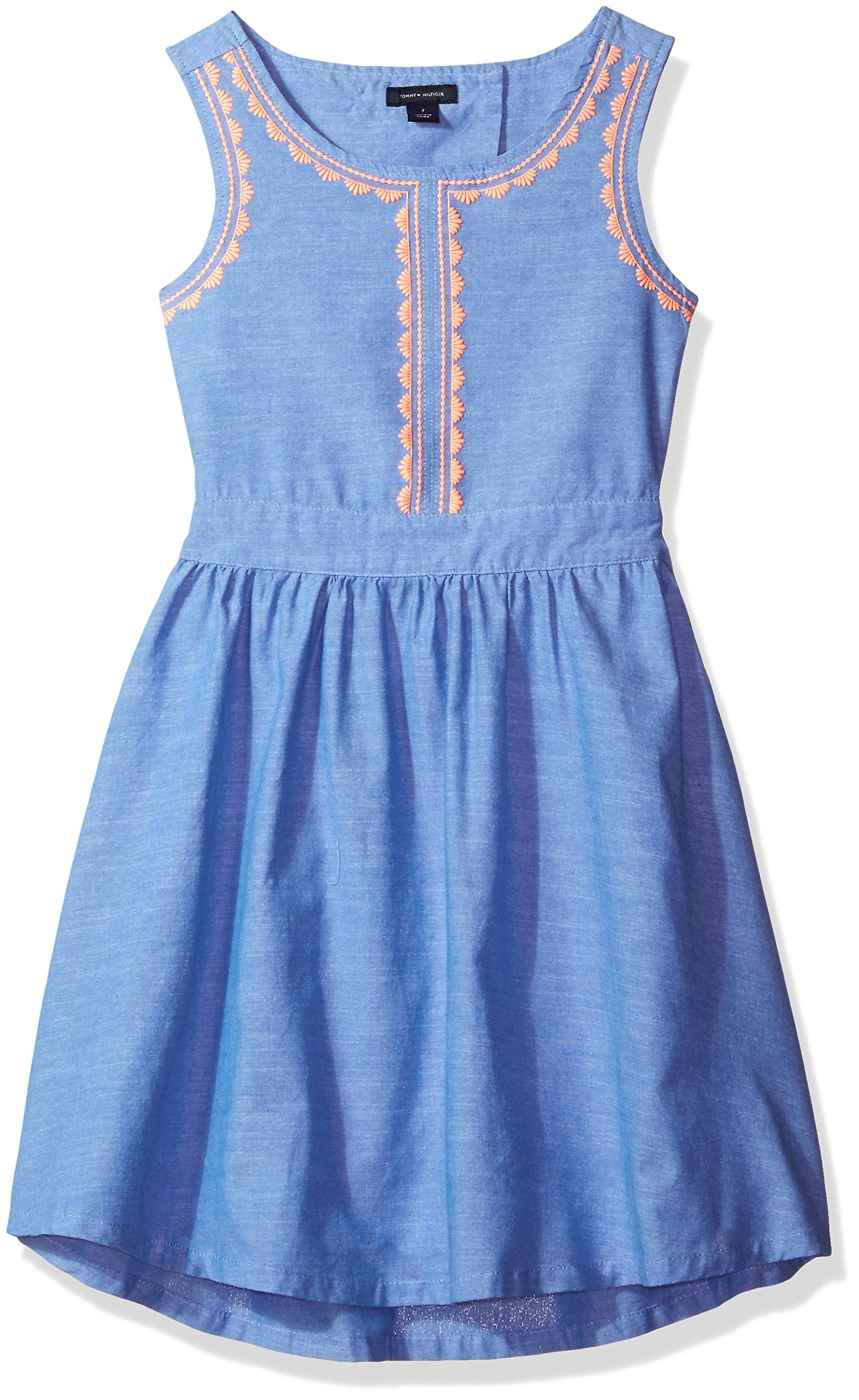 0c56dc208 Tommy Hilfiger Toddler Girls Chambray Embro Dress Palace Blue 2T ** Details  can be found by clicking on the image.(It is Amazon affiliate link) # ...