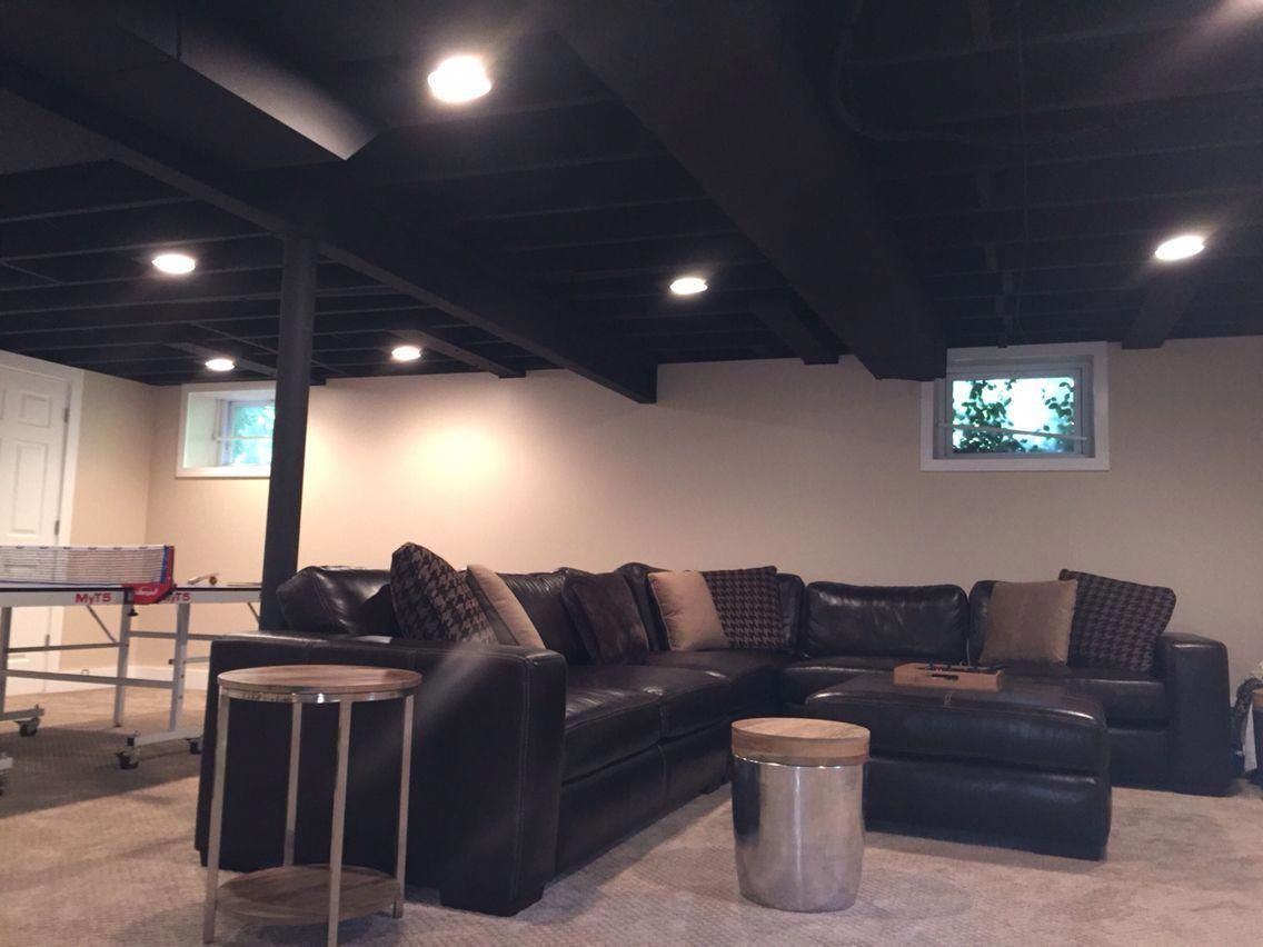 astonishing unfinished basement ideas that you should to apply