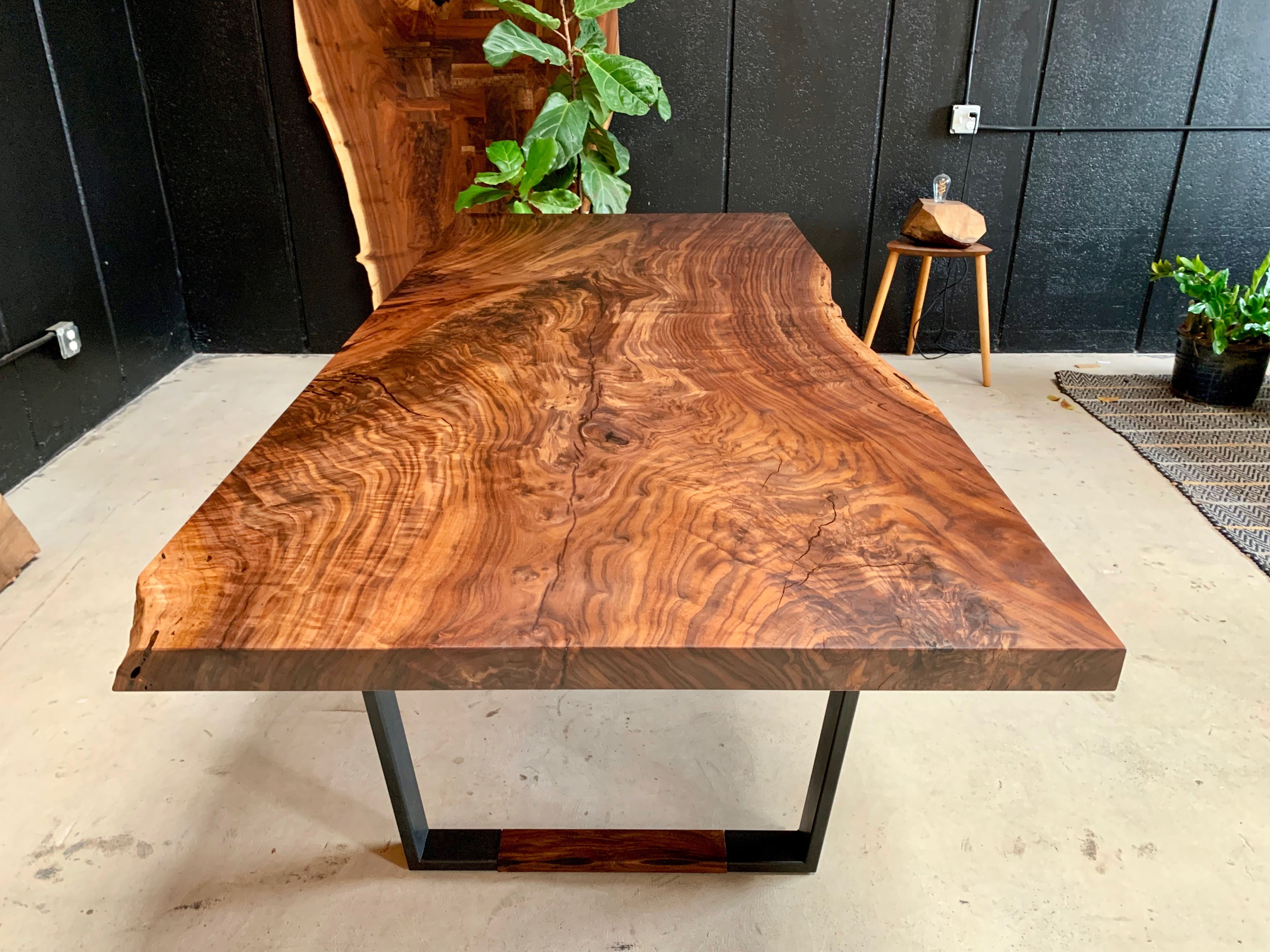 Claro Walnut Live Wedge Dining Table Pub Table Sets Patio Bar