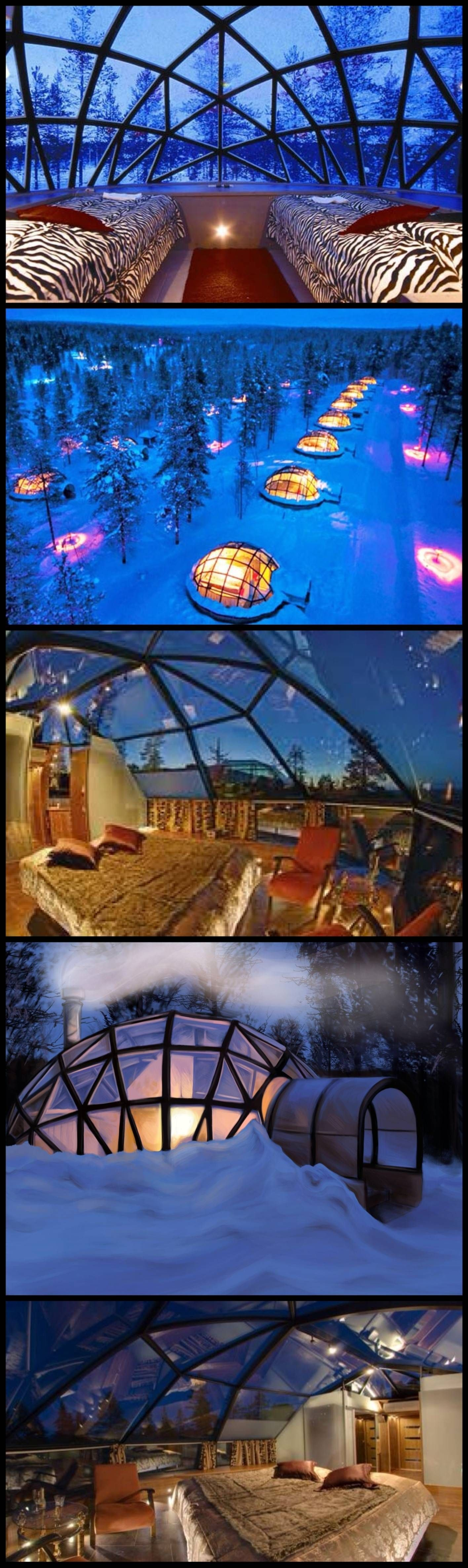 Northern Lights Iceland Glass Igloo Hotel