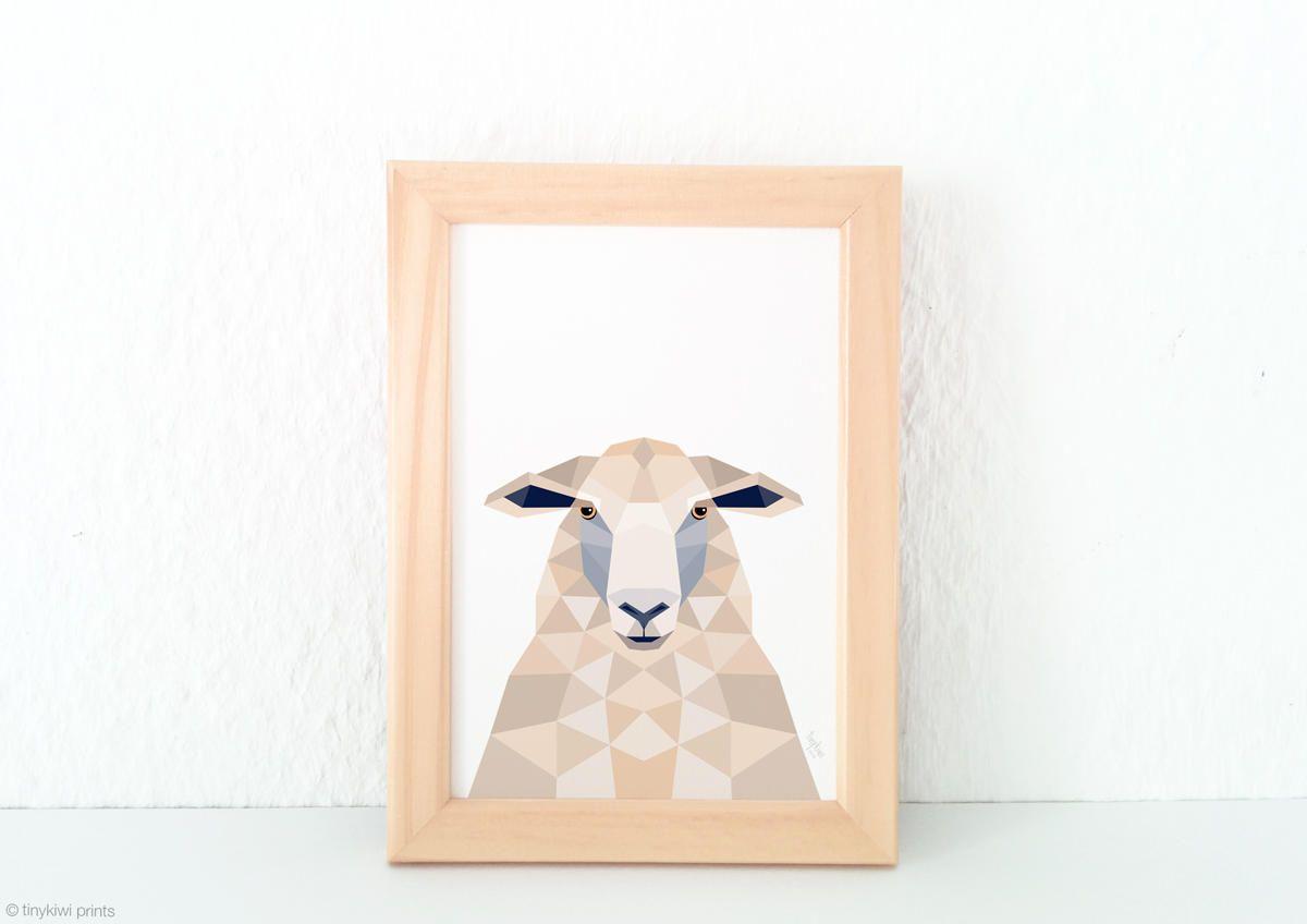 Image result for Geometric sheep Sheep art, Sheep