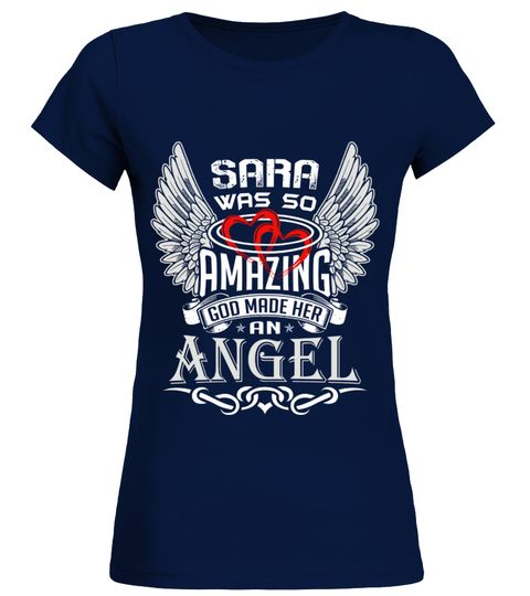 # SARA WAS SO AMAZING GOD MAKE HER AN ANGEL .  SARA WAS SO AMAZING GOD MAKE HER AN ANGEL  A GIFT FOR A SPECIAL PERSON   It's a unique tshirt, with a special name!   HOW TO ORDER:  1. Select the style and color you want:  2. Click Reserve it now  3. Select size and quantity  4. Enter shipping and billing information  5. Done! Simple as that!  TIPS: Buy 2 or more to save shipping cost!   This is printable if you purchase only one piece. so dont worry, you will get yours.   Guaranteed safe and…