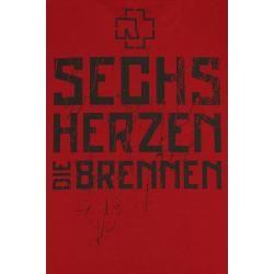 Photo of Rammstein 6 hearts t-shirt