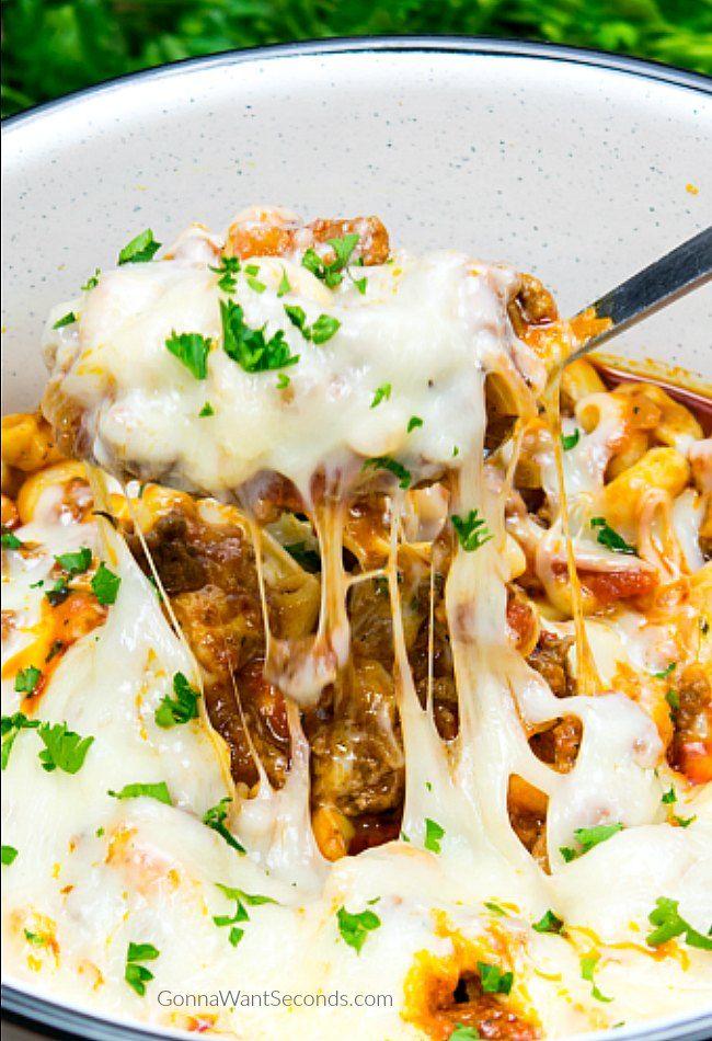 Million dollar spaghetti recipe chop suey american chop suey american chop suey forumfinder Images