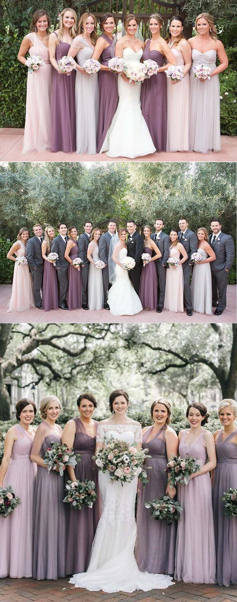 Top 6 Mauve Wedding Color Palettes Mauve Wedding Colors Dusty Purple Bridesmaid Dresses Purple Bridesmaid Dresses [ 2028 x 800 Pixel ]