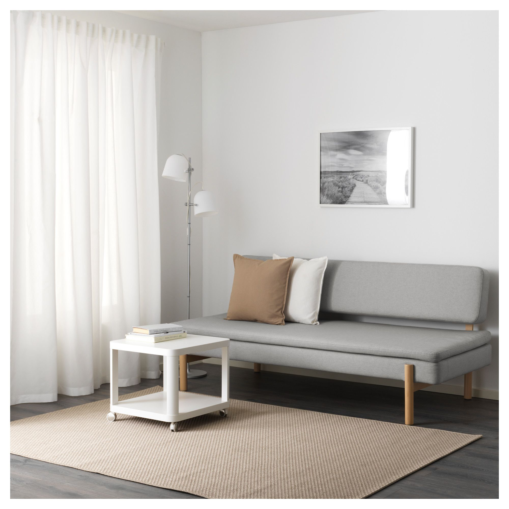 Ikea Sofa Japan Ikea Ypperlig 3 Seat Sleeper Sofa Orrsta Light Gray In