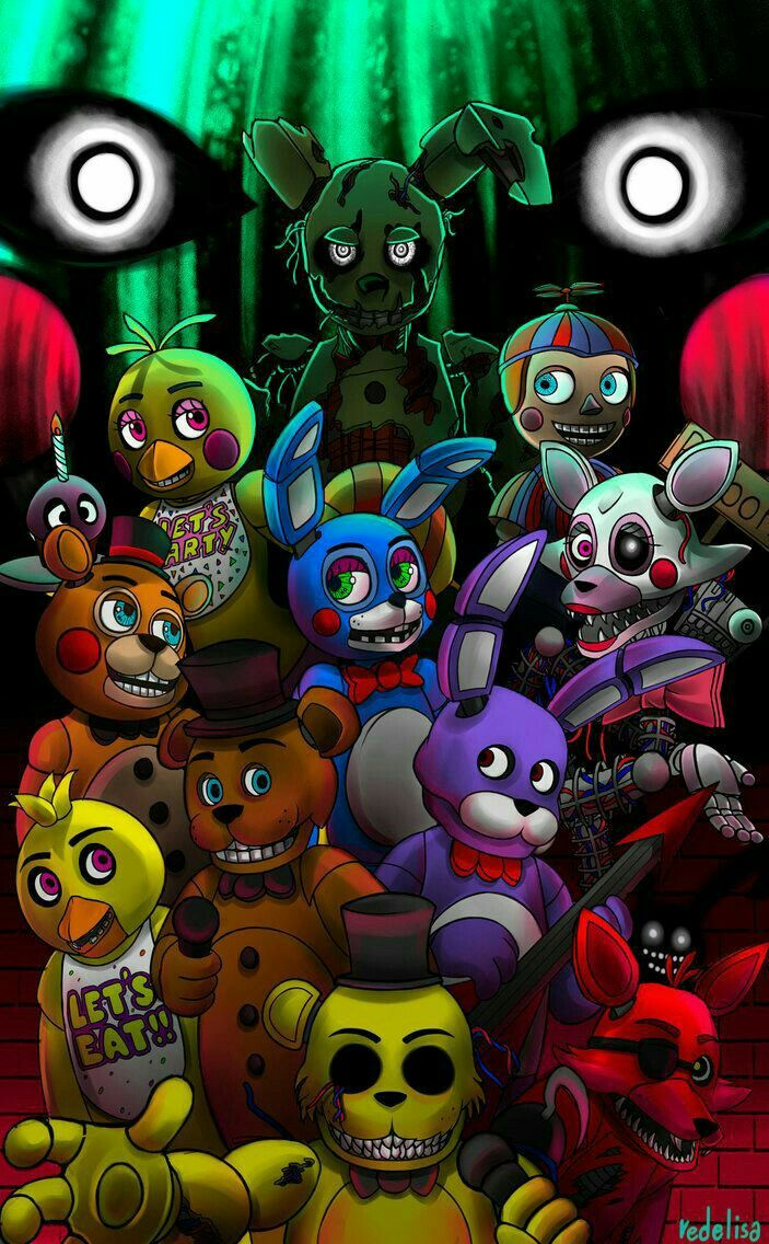 Pin By Dreamcatcher 23 On Five Nights At Freddy S Fnaf Wallpapers