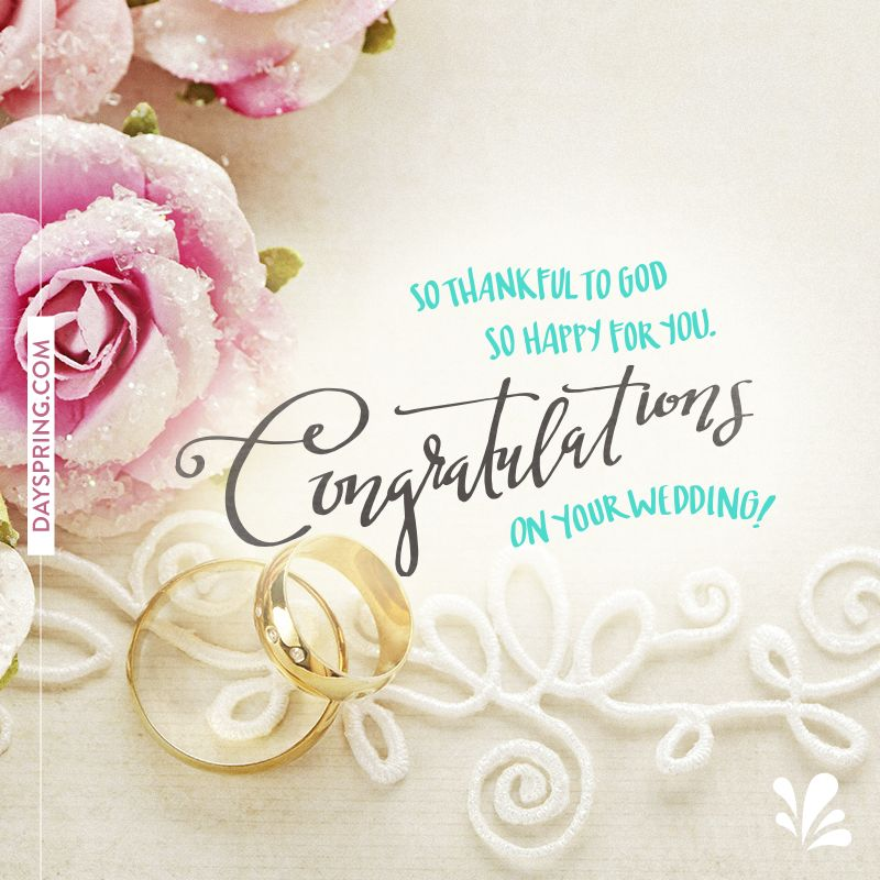 Congratulations On Your Wedding Engagements Weddings