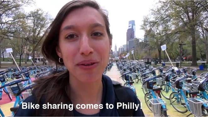 Philadelphia bike sharing