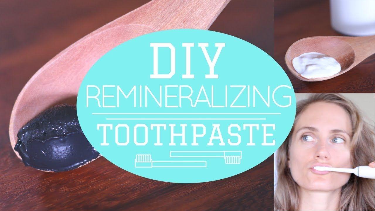Diy enamelbuilder toothpaste remineralizing