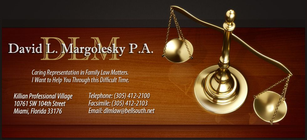 David L Margolesky P A 10761 Sw 104th St Miami Fl 33176 305