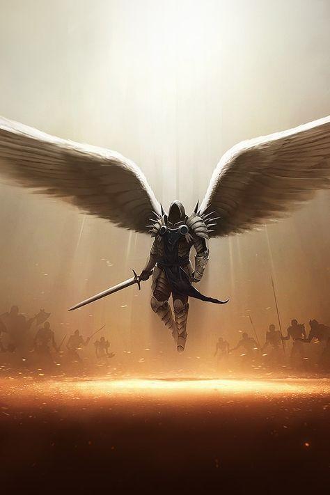 Archangel Tyrael Diablo III PC iPhone 4s Wallpaper http