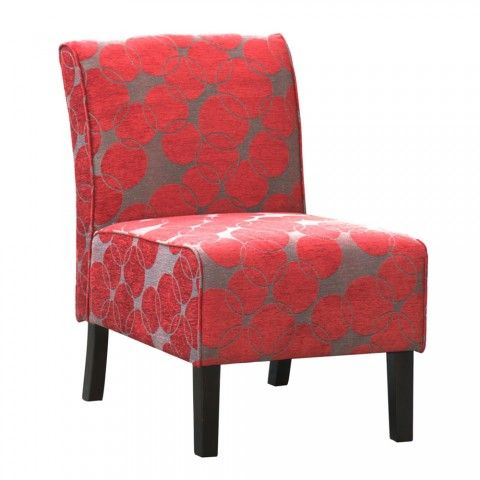Red Accent Chairs With Arms Red Accent Chair Living Room