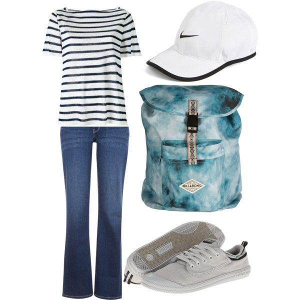 Wood Essence by d-cunningham on Polyvore featuring Scanlan Theodore, Levi's, Volley, Billabong and NIKE