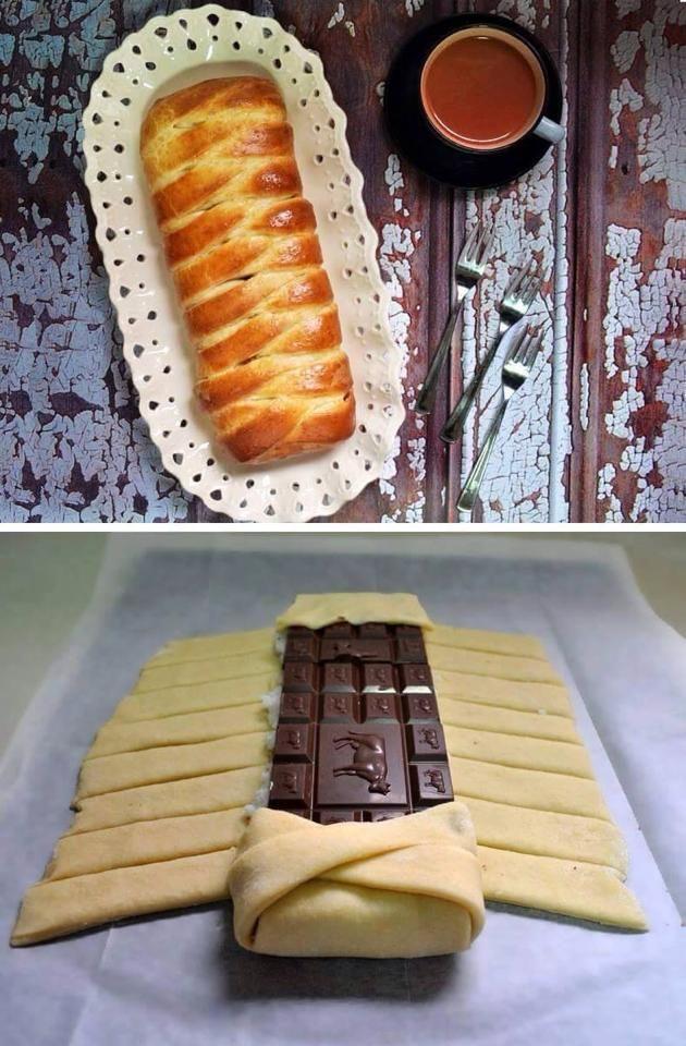 Pour passer un bon gateaux avec vos amis, voici une recette pour faire Tresse de chocolat et noix de coco.
