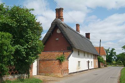 Cottages Upper Oakley Suffolk House Styles Cottage Britain