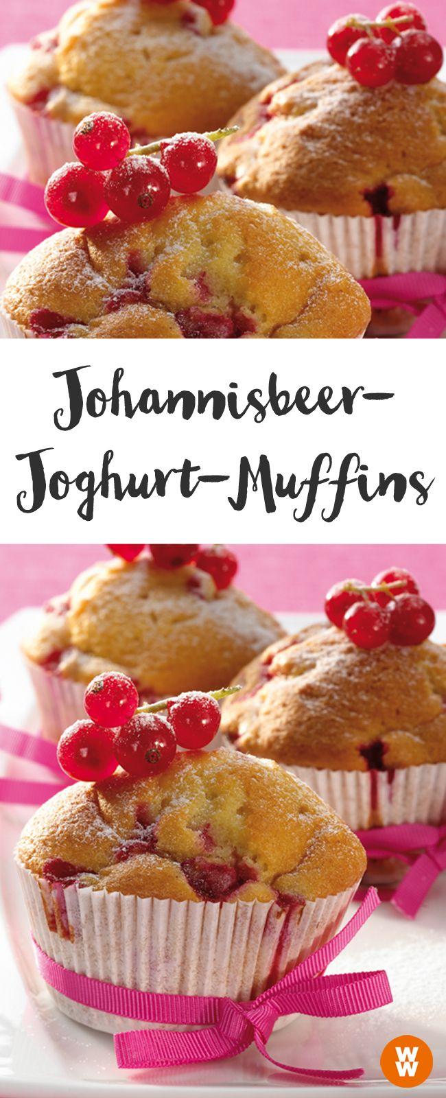 Johannisbeer Joghurt Muffins Rezept In 2019 Susses Desserts