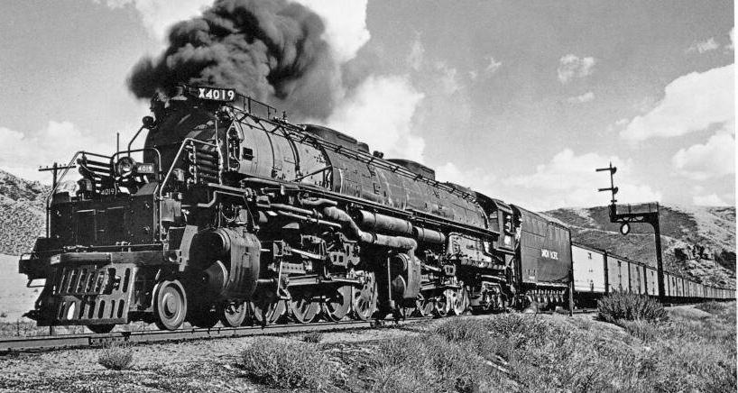 Big Boy Trains Black Amp Whites Pinterest Big Steam