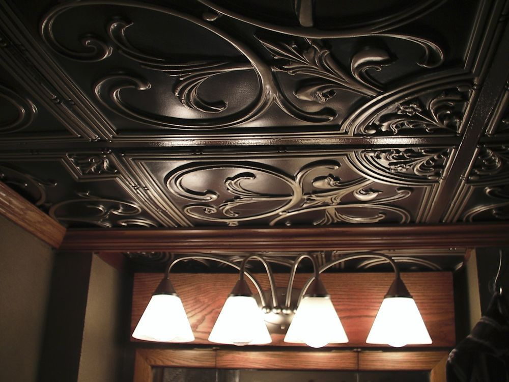 And Can Also Be Used As A Backsplash Or Wall Covering Faux Tin