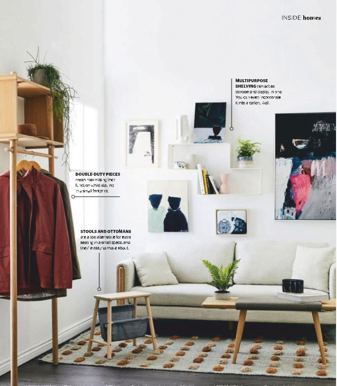 Inside out mag january issue gallery art wall in  small living room also best the above couch images rh pinterest