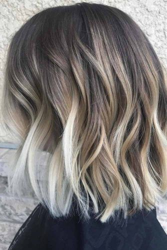100 Ideas To Experiment With Balayage Hair Color Technique In 2021 Short Hair Haircuts Hair Styles Short Hair Styles