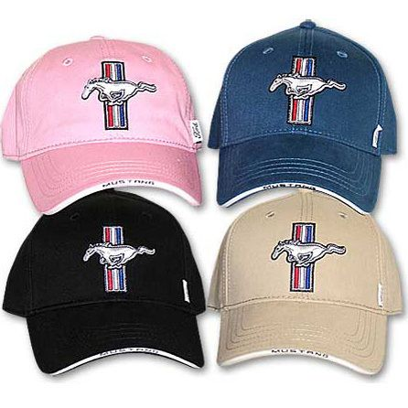 Ford Mustang Gt Logo Baseball Cap Hat Choice Of  Colours
