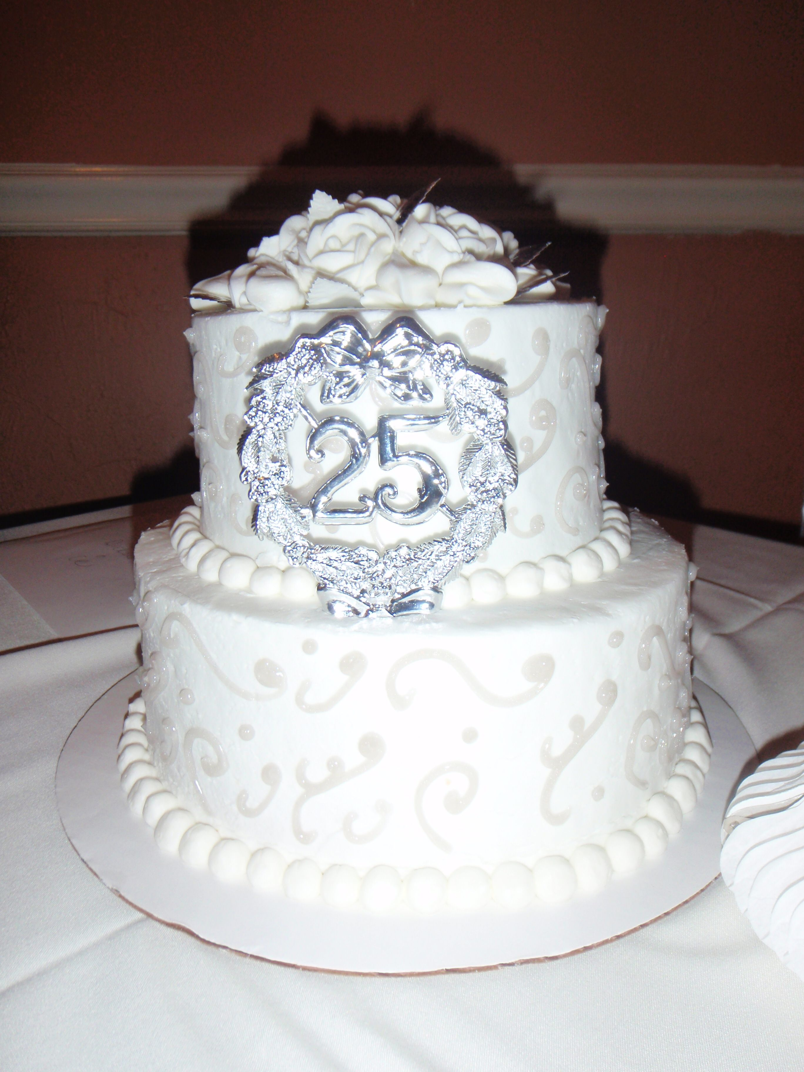 anniversary cakes | 25th wedding anniversary cakes | Reference ...