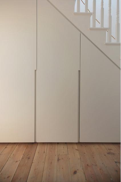 concealed under stairs cupboard