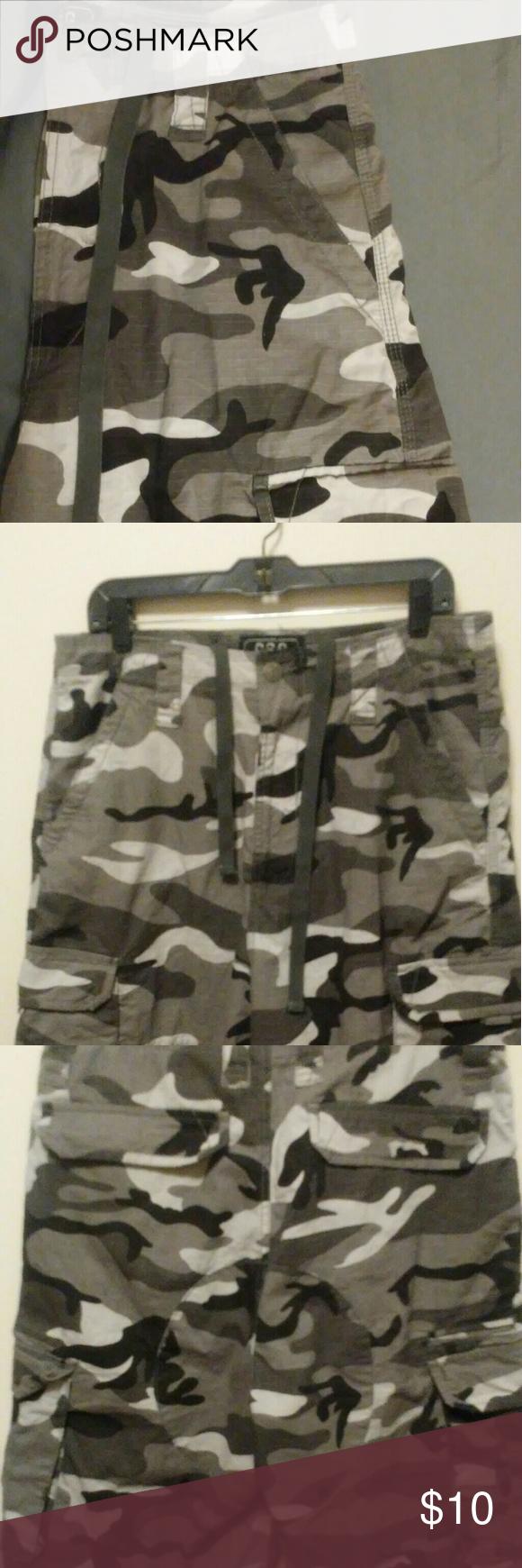 2d65f2f2e6 CSG Nice camo shorts champs sport gear Shorts Cargo   My Posh Closet ...