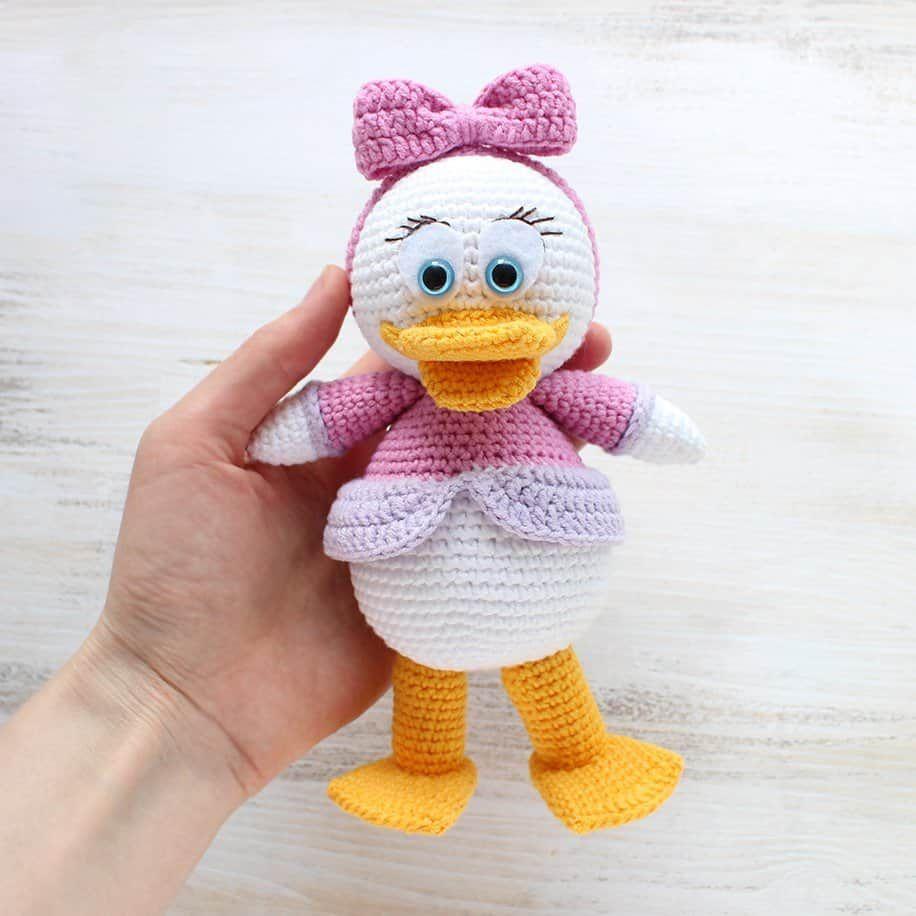 Amigurumi Webby Duck - Patrón de ganchillo gratis de Amigurumi hoy ...