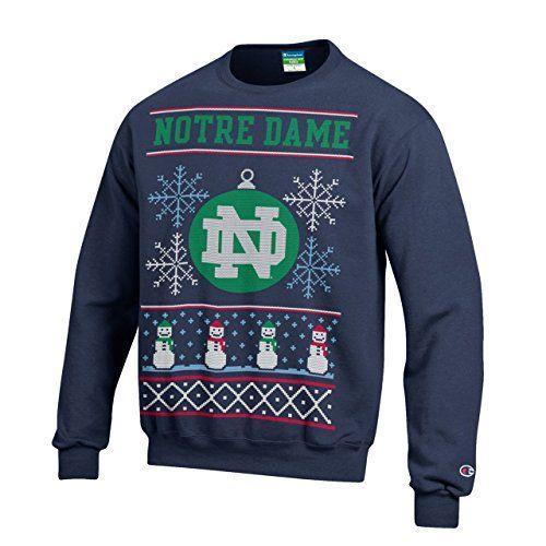 a4ca6316bc06 Notre Dame Fighting Irish Christmas Sweater